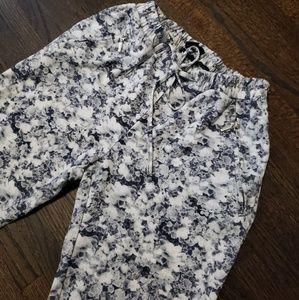 HM Floral Skinny Pants